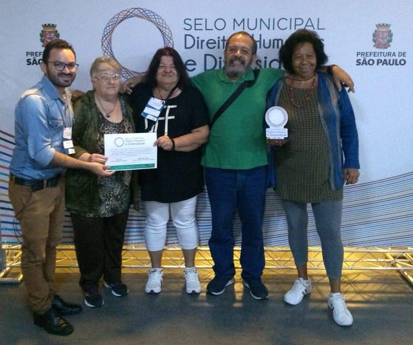 Rogério Pedro, Ângela, Willma, Marcos Dupim e Maria Helena