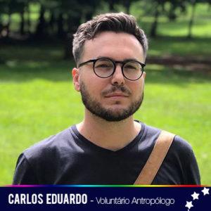 Voluntário EternamenteSOU - antropólogo, professor e pesquisador.